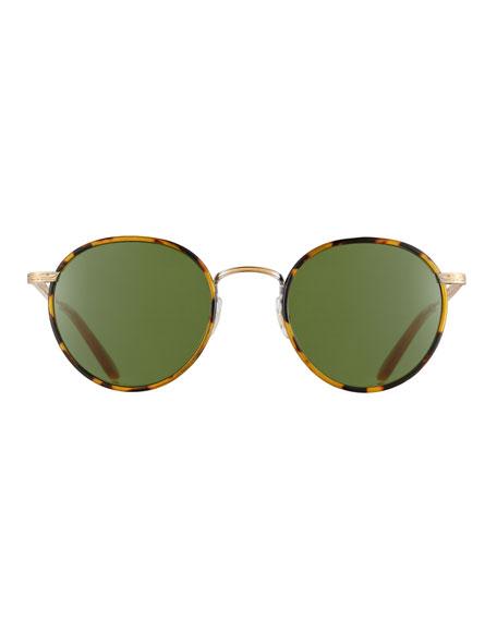 Wilson Round Monochromatic Sunglasses, Tortoise