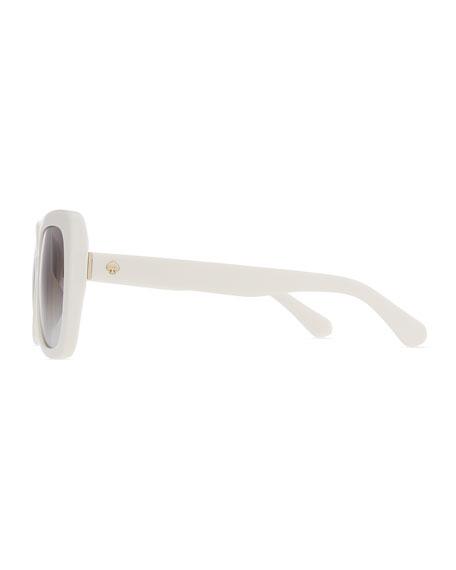 krystalyn square acetate sunglasses