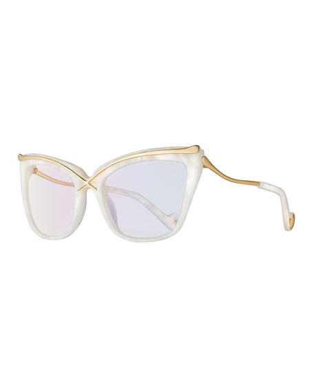 Anna-Karin Karlsson Lusciousness Divine Cat-Eye Optical Frames,