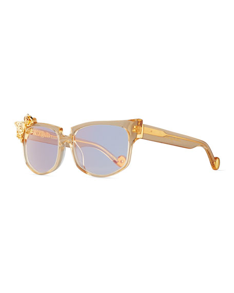 Anna-Karin Karlsson Seeking Summer Transparent Cat-Eye Optical