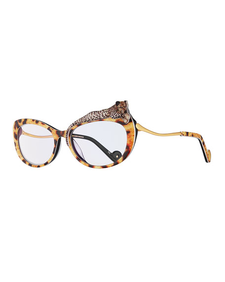 Anna-Karin Karlsson Rose et le Reve Cat-Eye Optical