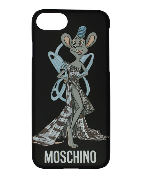 Rat-a-Porter Fashion Rat iPhone 6s/7 Phone Case, Black/Multicolor