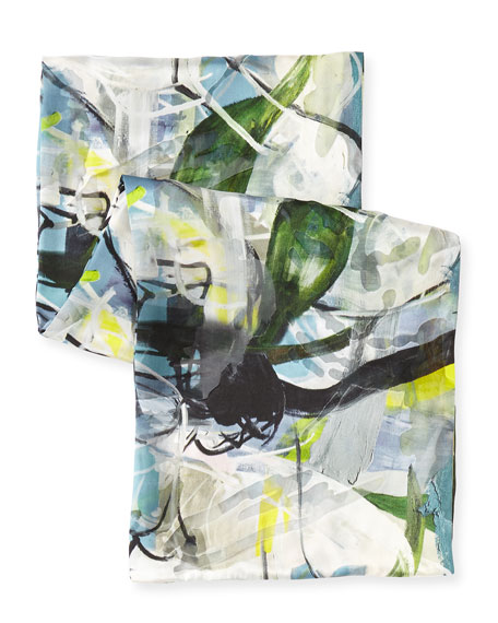 Sheer Delight Devore Scarf