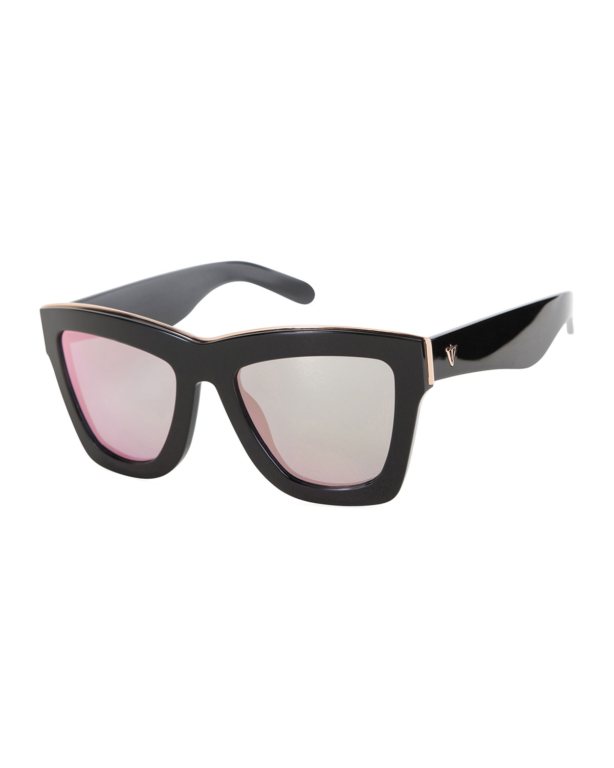 566a1a4caa Valley Eyewear DB Square Mirrored Sunglasses