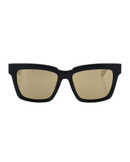 Square Two-Tone Visetos Sunglasses