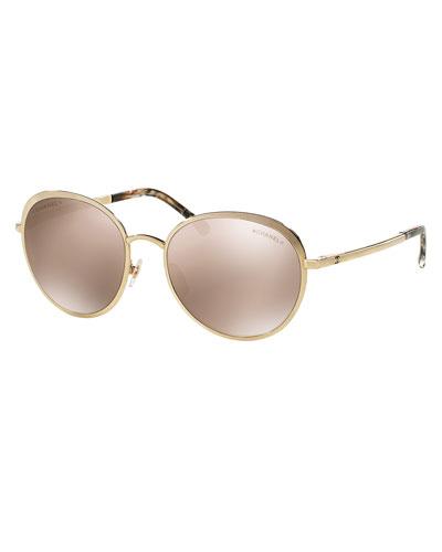 Round Spring Sunglasses