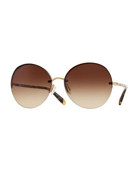 Jorie Round Sunglasses