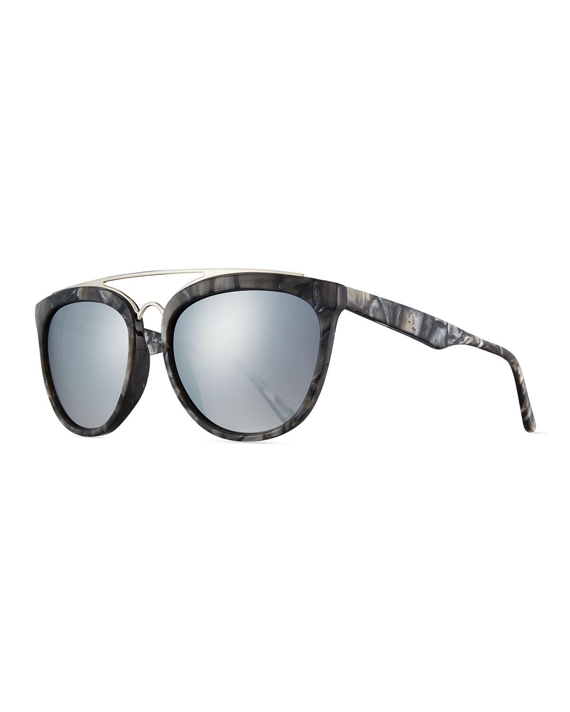 de metal Puente gafas con sol voluntario de WwqzPzEx8X
