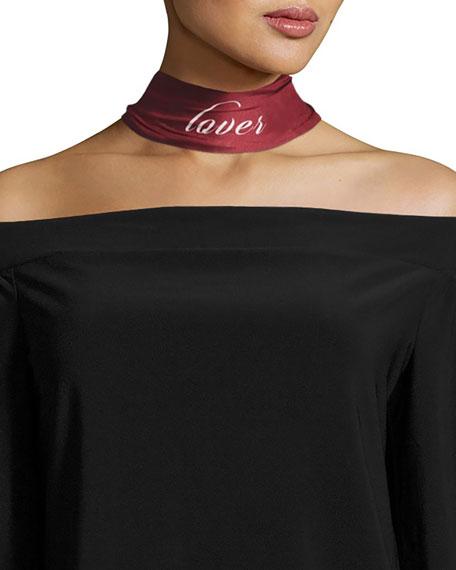 Lisa King Lover & Fighter Skinny Silk Twill