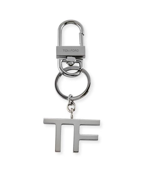 TF Brass Keychain Charm