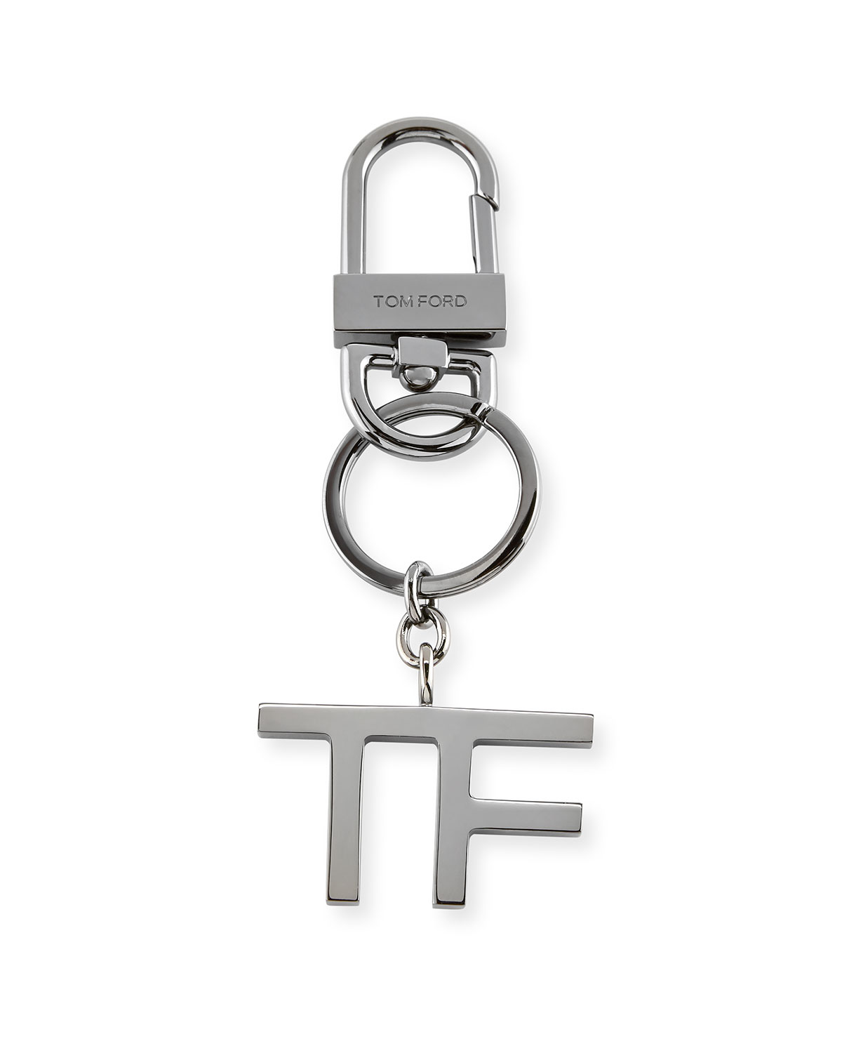 Tom Ford Tf Brass Keychain Charm Neiman Marcus