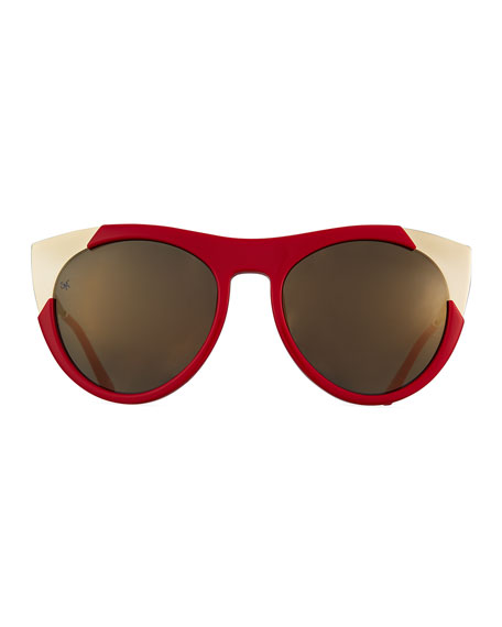 Zoubisou Cat-Eye Sunglasses