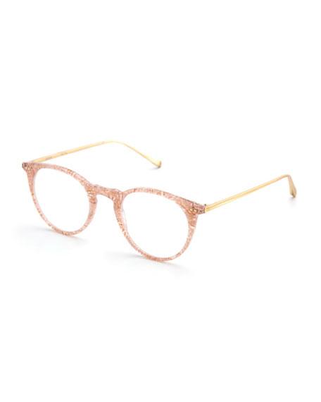 KREWE Royal Round Optical Frames, Camellia