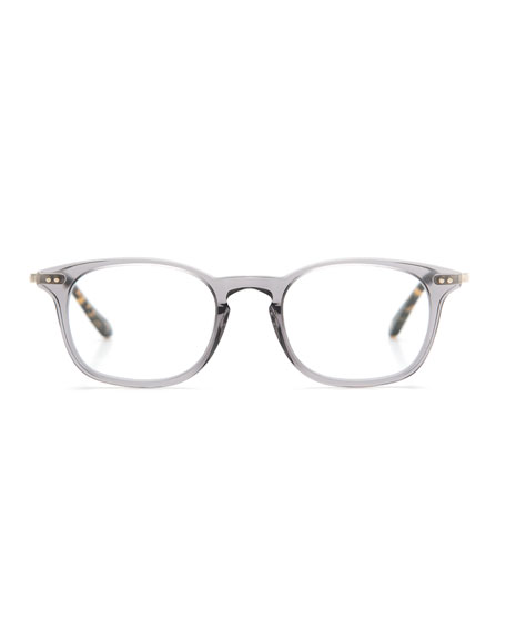 La Salle Square Optical Frames, Ash Gray