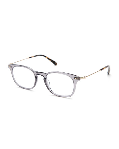 KREWE La Salle Square Optical Frames, Ash Gray