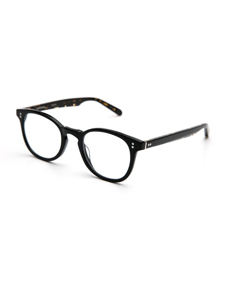 KREWE Marengo Square Optical Frames, Black