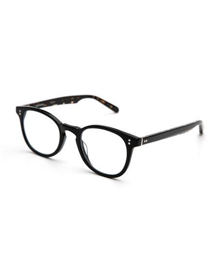 KREWE Marengo Square Optical Frames, Black