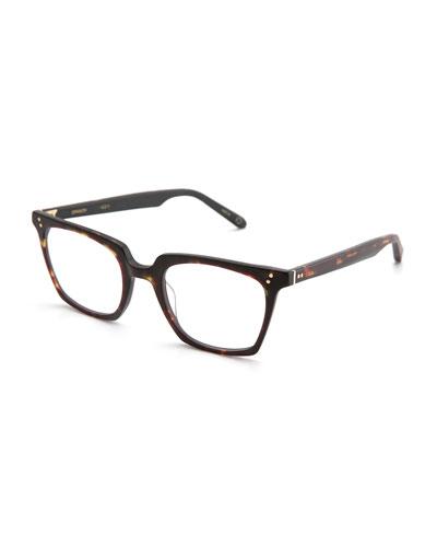 Howard Rectangular Optical Frames, Matte Sazerac