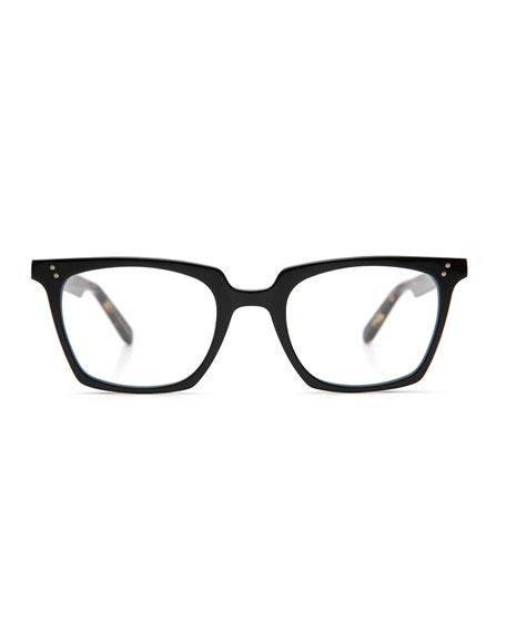 Howard Rectangular Optical Frames, Black