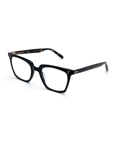 Howard Rectangular Optical Frames, Black