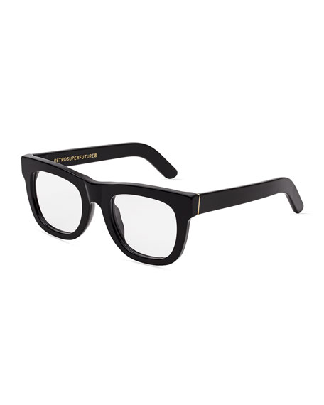 ciccio square optical frames black
