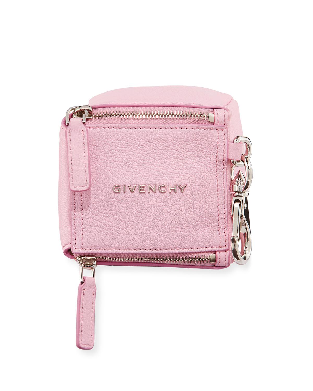 3c51c4b63aaf Givenchy Pandora Cube Pouch Charm Keychain