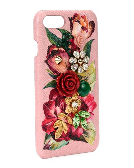 Floral Embellished iPhone 7 Case