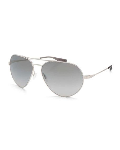 Barton Perreira Commodore Photochromic Aviator Sunglasses,