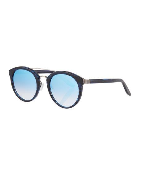 Barton Perreira Dalziel Round Universal-Fit Sunglasses,