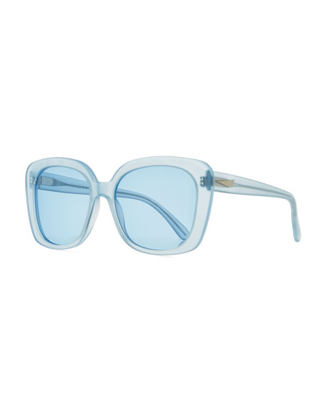 Monaco Printed Square Sunglasses