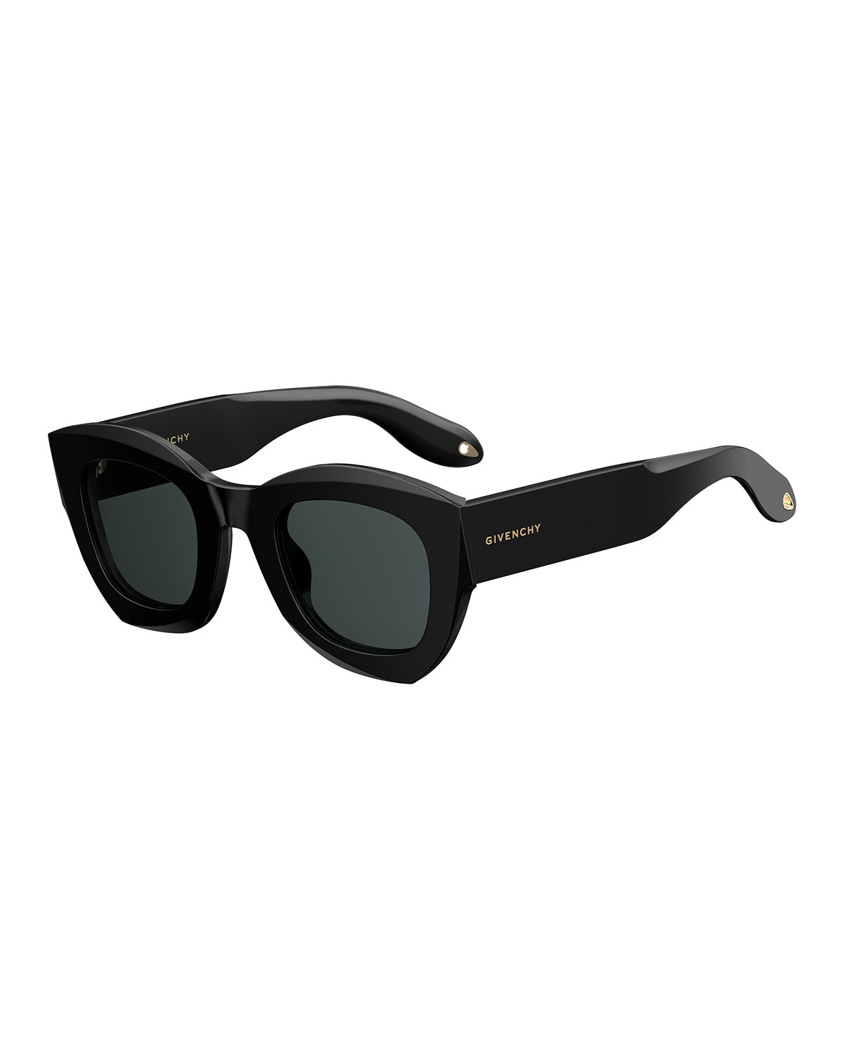 128162eeeb Givenchy Square Monochromatic Sunglasses