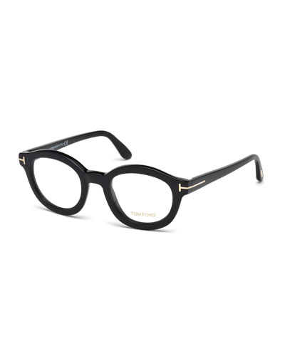 Oval Optical Frames, Black