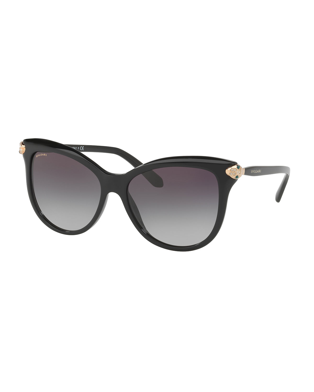 df306932d9f4a BVLGARI Serpenti Gradient Square Sunglasses