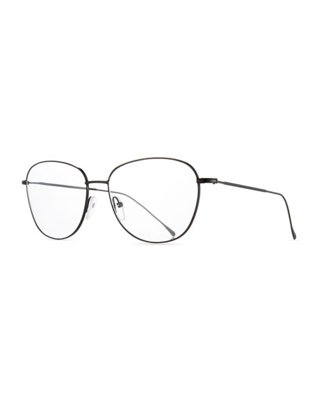 Prism New York Square Optical Frames, Black