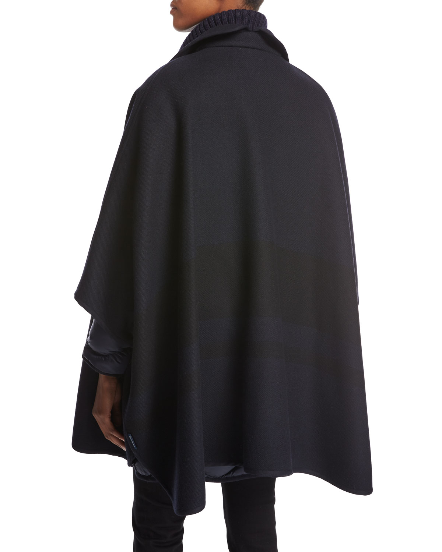 8065f455d australia moncler vest jacket long hooded cloak 63ab6 fa30c