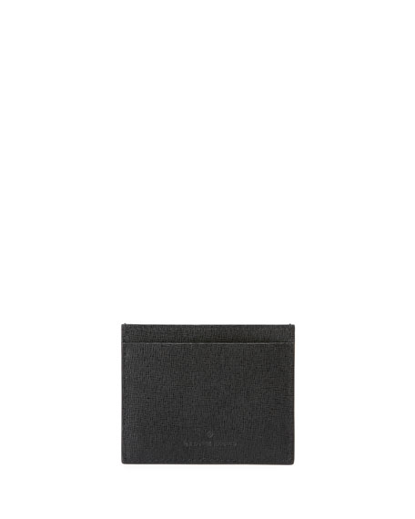 Open Eyes Saffiano Card Holder