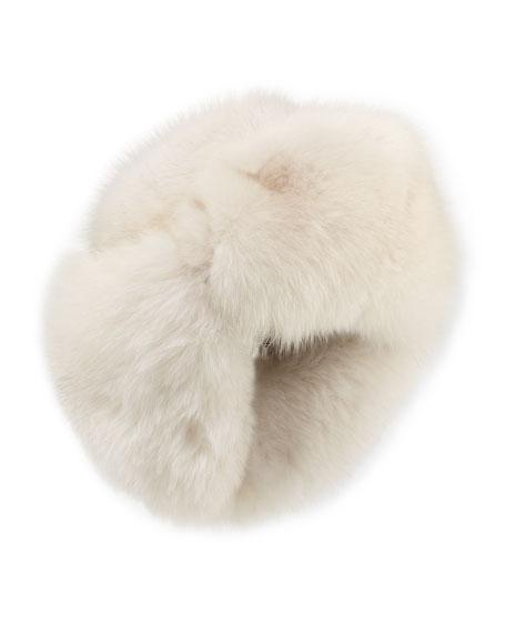 Fox-Fur Aviator Hat