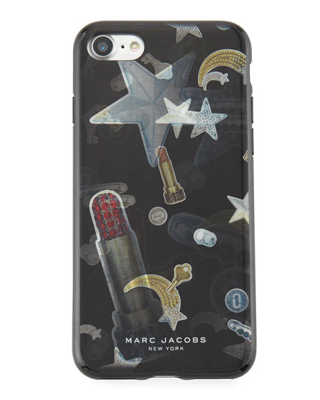 Marc Jacobs Lenticular Tossed Charms iPhone 7 Case