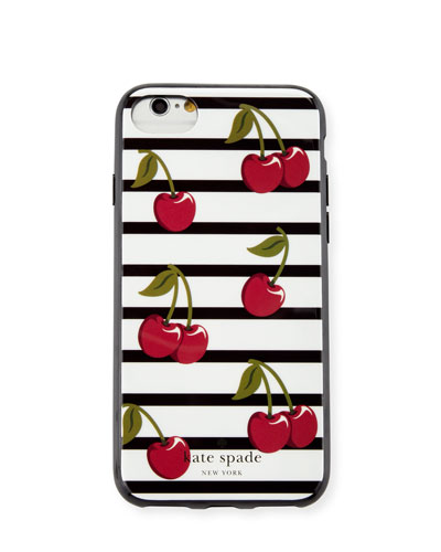 striped cherry iPhone 7 case