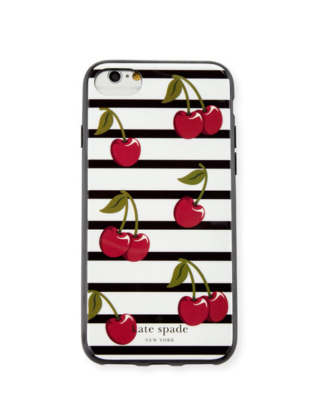 kate spade new york striped cherry iPhone 7