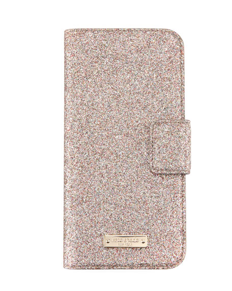 kate spade new york glitter wrap folio iPhone