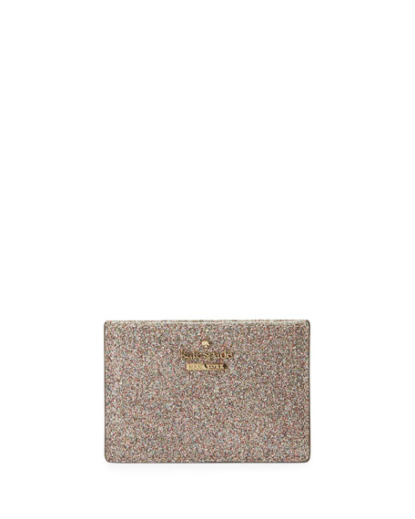 kate spade new york burges court glitter card