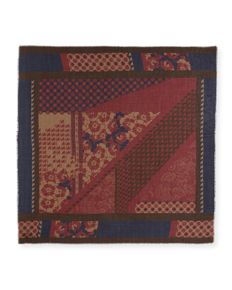 Deco Patchwork Scarf