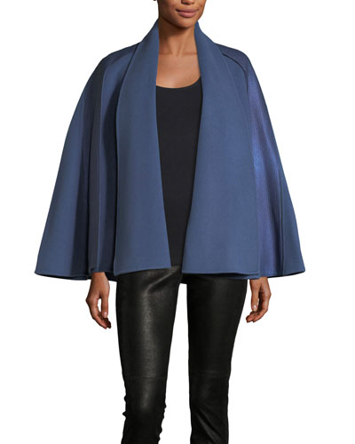 Luna Wool Cape
