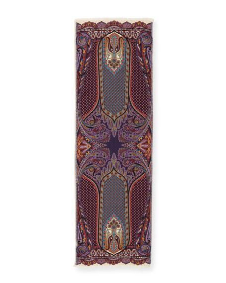Calcutta Cashmere-Silk Scarf