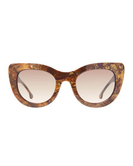 Delancey Cat-Eye Sunglasses