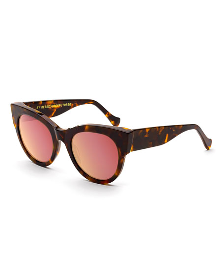 Noa Peach Lens Sunglasses