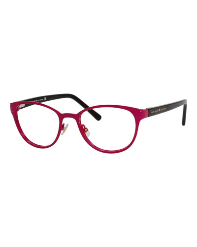 two-tone logo readers, pink/black