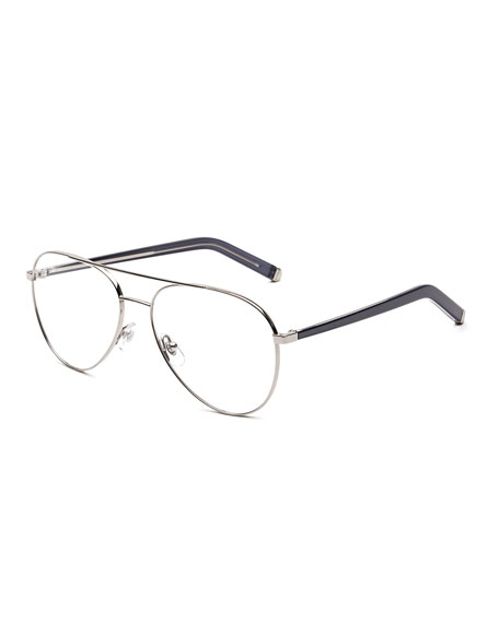 Numero 34 Argento Aviator Optical Frames