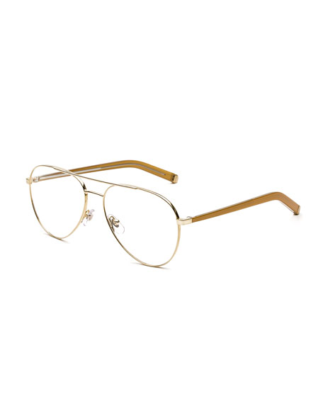 Super NUMERO 34 ORO AVIATOR OPTICAL FRAMES
